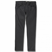Volcom VORTA TAPERED ASPHALT RAW SELVAGE