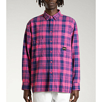 STAN RAY FLANNEL SHIRT PINK OVERDYE FLANNEL