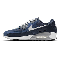 Nike AIR MAX 90 PRM OBSIDIAN/SUMMIT WHITE-MIDNIGHT NAVY