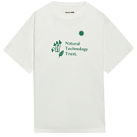 STORY MFG GRATEFUL TEE SS NATURAL TECHNOLOGY TRUST WHITE