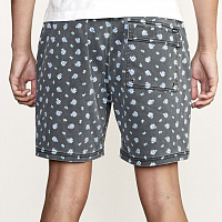 RVCA ESCAPE PRINT ELASTIC PIRATE BLACK
