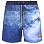 PAUL AND SHARK SWIMMING SHORTS IN PRINT PATTERN STORM PRINT