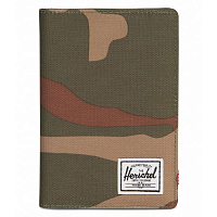 Herschel RAYNOR PASSPORT HOLDER RFID WOODLAND CAMO
