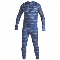 Airblaster Hoodless Ninja Suit NAVY FISH