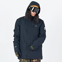 Planks Feel Good Insulated Jacket BLACK
