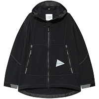 And Wander SCHOELLER 3XDRY STRETCH JACKET BLACK