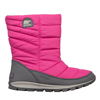 Sorel CHILDREN'S WHITNEY MID Pink Ice, Quarry