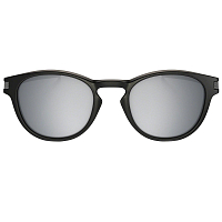Oakley Latch MATTE BLACK/CHROME IRIDIUM IRIDIUM