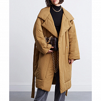 Proenza Schouler White Label Matte Puffer Long Coat CIDER