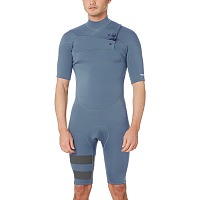 Hurley M ADVTG PLUS 2/2 SS SPRINGSUIT MIDNIGHT TEAL