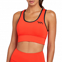 RVCA TAKEDOWN BRA II FLAME RED