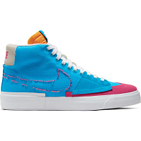 Nike SB ZOOM BLAZER MID EDGE LASER BLUE/WATERMELON-UNIVERSITY GOLD