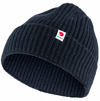 Fjallraven LOGO TAB HAT DARK NAVY