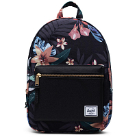 Herschel GROVE SMALL SUMMER FLORAL BLACK