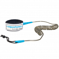 Aquatone Aquatone 9.0 SUP Coil Leash ASSORTED