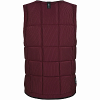 Mystic THE DOM IMPACT VEST FZIP WAKE OXBLOOD RED