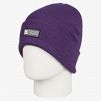 DC LABEL BEANIE  HDWR GRAPE