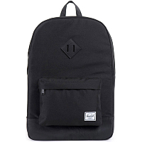 Herschel Heritage BLACK/BLACK SYNTHETIC LEATHER