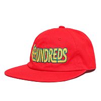 THE HUNDREDS BUNCH STRAPBACK RED