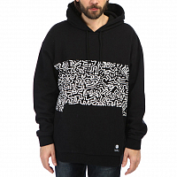 Element KH PANEL POP HOOD FL FLINT BLACK