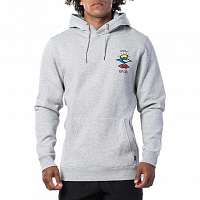 Rip Curl SEARCH ICON HOOD CEMENT MARLE