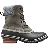 Sorel SLIMPACK II LACE FELT Quarry, Black