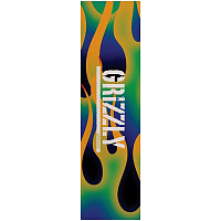 Grizzly GREEN FIRE STAMP GRIPTAPE MLTI