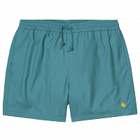 Carhartt WIP Chase Swim Trunks HYDRO / GOLD