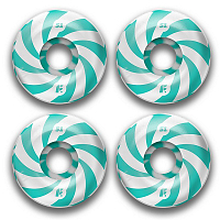 Footwork ROUND SHAPE SWIRL MINT