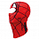 Buff SUPERHEROES POLAR BALACLAVA SPIDERMASK RED
