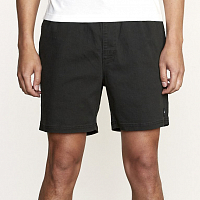 RVCA ESCAPE ELASTIC SHORT BLACK