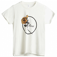 RVCA THORNS SS ANTIQUE WHITE