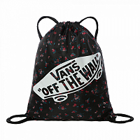 Vans BENCHED BAG BEAUTY FLORAL BLACK