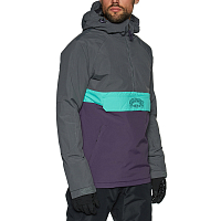 Billabong STALEFISH ANORAK DARK PURPLE