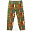 Engineered Garments Drawstring Pant BLACK GOLD COTTON AFRICAN PRINT YF001