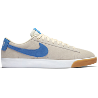 Nike SB ZOOM BLAZER LOW GT PALE IVORY/PACIFIC BLUE-WHITE