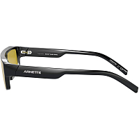 Arnette SKYE BLACK/MIRROR YELLOW TAMP SILVER/GOLD
