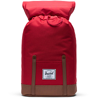 Herschel RETREAT RED/SADDLE BROWN