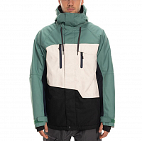 686 MNS GEO INSULATED JACKET MARINE GREEN COLORBLOCK