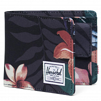 Herschel ROY COIN RFID SUMMER FLORAL BLACK