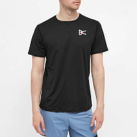 District Vision AIR Wear TEE BLACK