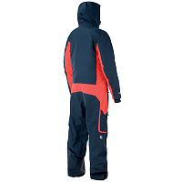 Picture organic EXPLORE SUIT DARK BLUE RED