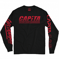 Capita FACTORY - LONG SLEEVE TEE BLACK