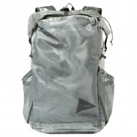 AND WANDER CUBEN FIBER BACKPACK Charcoal