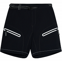 And Wander Light Hike Shorts BLACK