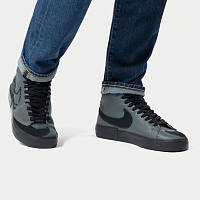 Nike SB ZOOM BLAZER MID EDGE L IRON GREY/BLACK-BLACK