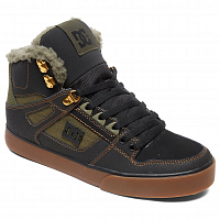 DC PURE HT WC WNT M SHOE BLACK/OLIVE