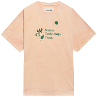 STORY MFG GRATEFUL TEE SS NATURAL TECHNOLOGY TRUST MADDER PEACH