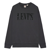 Levi's® RELAXED GRAPHIC CREWNECK 90S SERIF HOLIDAY
