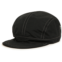 And Wander LASER HOLE NYLON TAFFETA CAP BLACK